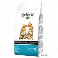 Schesir Maintenance сухой корм для кошек (с рыбой)