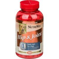 Витамины, добавки Nutri-Vet Hip and Joint Level №1 жевательные таблетки «Связки и суставы» для собак (со вкусом печени)
