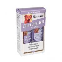 Витамины, добавки Nutri-Vet Набор для ухода за ушами у собак (подсушивающий крем + ушные капли)