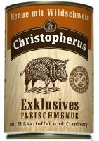 Консервы Christopherus Эксклюзивное меню с мясом дикого Кабана со Сладким Картофелем и Клюквой