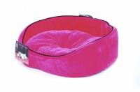"""Лежаки, домики Pet Head BED Hot Pink Мягкий лежак """"Розовый вельвет"""""""
