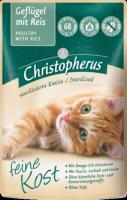Консервы Christopherus пауч Птица + Рис (для стерилизованных кошек)