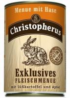 Консервы Christopherus Эксклюзивное меню с мясом Кролика со Сладким Картофелем и Яблоком