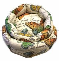 CLP круглая лежанка «Дорадо» для животных