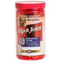 Витамины, добавки Nutri-Vet Hip and Joint Level №3 жевательные таблетки «Связки и суставы» для собак (со вкусом печени)