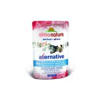 Almo Nature Паучи для кошек Атлантический тунец 91% мяса, Atlantic Tuna Alternative