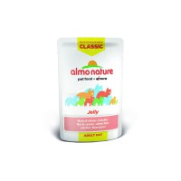 Almo Nature Паучи лосось в желе для кошек, Classic Nature Jelly - Salmon