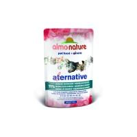 Almo Nature Паучи для кошек Индонезийская макрель 91% мяса, Indonesian Mackerel Alternative