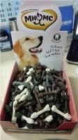 Мнямс Зубные щетки малые трехцветные в картонном дисплее 250 шт, 6,5 см