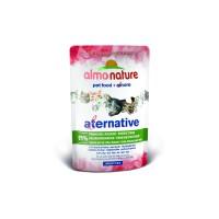 Almo Nature Паучи для кошек Тихоокеанский тунец 91% мяса, Pacific Tuna Alternative