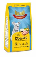 Hau-Hau Champion Chicken-Rice Adult dog