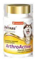 Unitabs Витамины ArthroАctive с Q10 для собак, 100таб