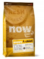 NOW Natural. Fresh Puppy Recipe Grain Free
