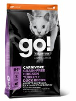 GO Natural. Fit + Free Grain Free Chicken, Turkey, Duck Cat Recipe.