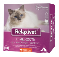 Relaxivet Жидкость успокоительная + диффузор для кошек и собак 45мл