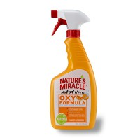 8in1 уничтожитель пятен и запахов от собак Natures Miracle Orange-Oxy Formula спрей 710 мл