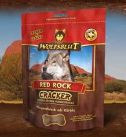 Wolfsblut Крекеры для собак с мясом кенгуру, тыквой и бататом Cracker Red Rock