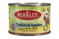 Berkley Turkey & Lamb & Apples Light Menu