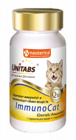 UNITABS Витамины ImmunoCat с Q10 для кошек, 120таб