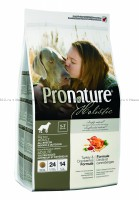 Pronature Holistic Adult All Breeds сухой корм для собак (индейка/клюква)