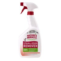 8in1 Nature's Miracle Dog Stain&Odor Remover Spray Mel. Универсальный уничтожитель пятен и запахов Дыня для собак, спрей