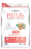 Flatazor PURE LIFE KITTEN WITH DUCK AND SARDINE
