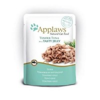 Applaws Cat pouch tuna wholemeat in jelly