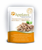 Applaws Cat pouch chicken with beef in jelly