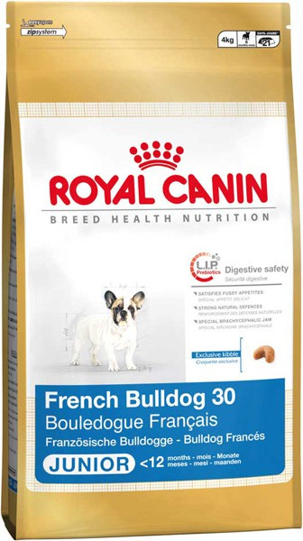 "Royal Canin ""French Bulldog 30 Junior"" Для щенков Французского Бульдога: до 12 мес."
