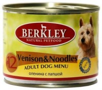 Berkley Venison & Noodles Adult Dog Menu