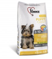 1st Choice Puppy Toy&Small Breeds