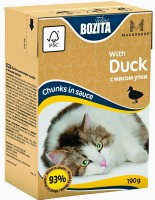 Bozita Chunks in Sauce with Duck